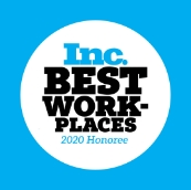 Inc. Best Places to Work 2020 Honoree